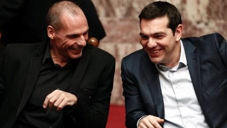 Varoufakis und Tsiprias