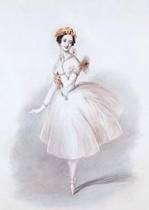 """Maria Taglioni 1832 in """"La Sylphide"""""""