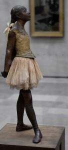 Degas, La petite danseuse de 14 ans, 1881. Musée d'orsay