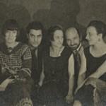 Von links nach rechts: Louise Norton-Varèse (1890–1989, Schriftstellerin, Verlegerin, New York Dada), Edgard Varèse, Suzanne Duchamp, Jean Crotti, Mary Reynolds, 1924. Archives of American Art, Smithsonian Institution