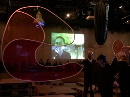 Die disparate Stadt. Uraufführung 5.3.2016 im Malersaal/dt Schauspielhaus Hamburg