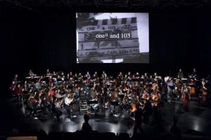 "Klub Katarakt 2017 / Kampnagel - Proben der Jungen Symphoniker zum Cage-Film ""one11 and 103"" {M}"
