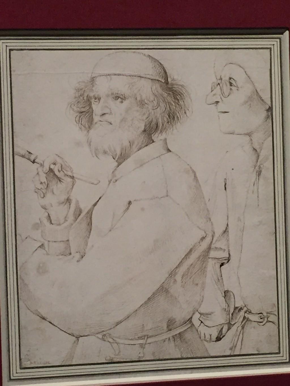 Pieter Bruegel d.Ä., Maler und Käufer  um 1565