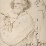 Maler und Käufer, um 1565 © Albertina Wien
