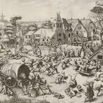 Der Jahrmarkt von St. Georg, um 1559 © Albertina Wien