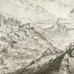 Die große Alpenlandschaft, 1555/6 © Albertina Wien