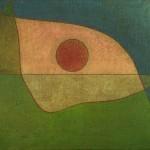 PAUL KLEE, BLICK DER STILLE, 1932  Öl auf Jute auf Keilrahmen, 55,6 x 70,5 cm The Menil Collection, Houston © Hickey-Robertson, Houston