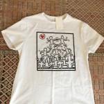 ohne jeden Hinweis auf Keith Haring und seine Foundation...