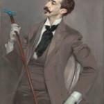 Giovanni Boldini Le Comte Robert de Montesquiou (1855–1921), 1897 Öl auf Leinwand, 116 x 82,5 cm Musée d'Orsay, Paris Foto © RMN-Grand Palais (Musée d'Orsay)/Hervé Lewandowski