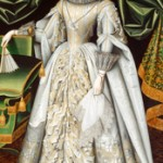 William Larkin Portrait of Diana Cecil, later Countess of Oxford, circa 1614−1618 Öl auf Leinwand, 206 x 120 cm Iveagh Bequest (Kenwood, London)