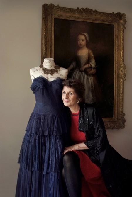 Monika Gottlieb - Mode- und Schmucksammlerin © Michael Dannenmann